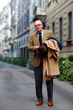 Living legend of men's wear and my idol-Luciano Barbera