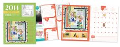 Scrapbook  Cards Today Introduces a Scrapbooking Planner for 2014