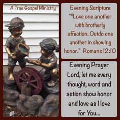 Evening Scripture & Prayer #atruegospelministry