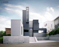 Best of Week 18/2015 - Scape House by Wojtek Lubinski - Ronen Bekerman - 3D Architectural Visualization & Rendering Blog