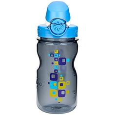 Nalgene On The Fly Kids 12oz Water Bottle  3 Pack Gray Square with Blue Cap -- More info could be found at the image url.Note:It is affiliate link to Amazon.