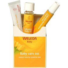 Weleda organic baby care products....my favorites for my small ones.