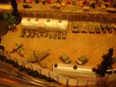 Model Railroad Airfield