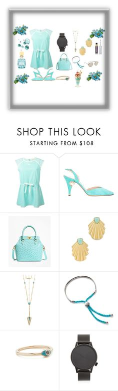 """Get ready for party...,"" by jamuna-kaalla ❤ liked on Polyvore featuring Courrèges, Nicholas Kirkwood, Brooks Brothers, House of Harlow 1960, Monica Vinader, Nora Kogan, Komono, Illesteva and vintage"