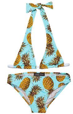 pineapples on turquoise bikini for girls Boys Swimwear, Bikini Girls, Kids Bathing Suits, Skirts For Kids, Luxury Swimwear, Beachwear, Bikinis, Swimsuits, Casual Tops