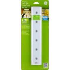GE 12 in. LED Wireless Under Cabinet Light-17446 - The Home Depot $16 each