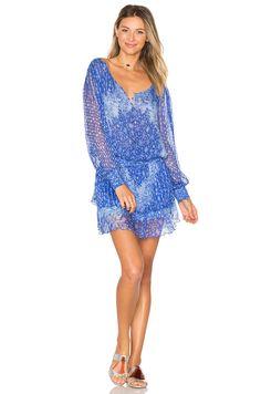 Poupette St Barth Jolie Dress in Blue Persian Galaxy