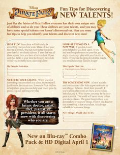 Discover new talents with The Pirate Fairy