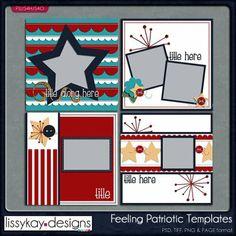 Feeling Patriotic by LissyKay Designs