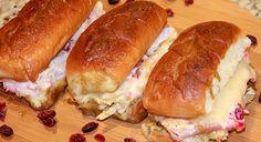 Leftover Thanksgiving Dinner Turkey Sliders