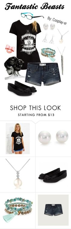 """""""Fantastic Beasts"""" by cosplay-er ❤ liked on Polyvore featuring Mikimoto, Forzieri, Panacea and Abercrombie & Fitch"""