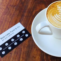 They have arrived! Boss lady #coffee cards. Eleventh coffee free. #cafe #free #camperdown #breakfast #caffeine by bossladyfoodco