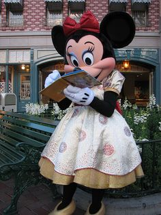 Minnie Mouse at Disneyland
