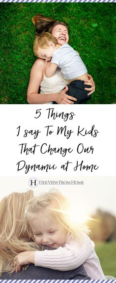 When my relationship with my kids hard, I do these five things. #parenting #motherhood #kids