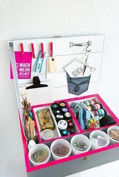 DIY: Upcycling Organizer via DaWanda.com