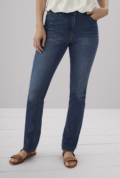 2361291985d Pure Cotton Straight Cut Jeans Straight Cut Jeans, Long Tall Sally, Jeans  Size,