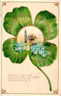 Patrick's Day Postcard, Visual Studies Collection, Library of Virginia. Vintage Greeting Cards, Postcards, Printables, Vintage Images, St Patrick, Day, Virginia, Scrapbooking, Painting