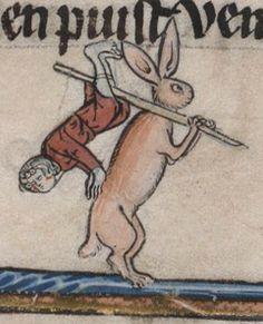 Arthurian Romances; ca. 1275-1300; Beinecke Rare Book Library; MS 229 f.94v.