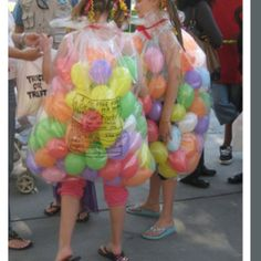 Jelly bellies costume for best friends