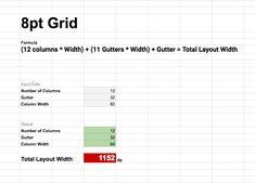 8pt Grid for Web. Или мой Калькулятор. – Дизайн-кабак Ui Design, Bar Chart, Grid, Layout, Modern, Trendy Tree, Page Layout, Bar Graphs, User Interface Design