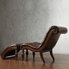 Oh...I so love this. A chaise, that can be separated at need. In leather, of course.