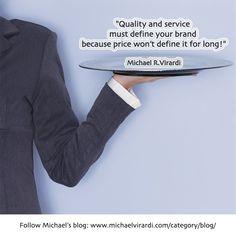 Quality & Service vs. Price!