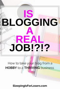 Is blogging a real job? OF COURSE! But explaining to others what you do as a blogger and how you make money can be tricky. Let me help you figure it all out!