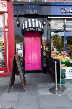 Might have to try this out in August!  The Pig's Ear Restaurant - Dublin