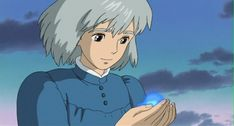 Sophie ♥ Howl's Moving Castle is a 2004 Japanese animated fantasy film written and directed by Hayao Miyazaki of Studio Ghibli and based on the novel of the same name by Diana Wynne Jones.