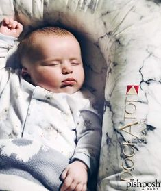 We ♥♥♥ seeing YOUR PishPosh Baby in their gear!!!   Want to be featured? Post pics of your baby using their new baby gear with the hashtag #mypishposhbaby!  . @bebebeanieblog's baby Emery snoozes, snuggled in his DockATot Grand Dock in Carrara Marble.   http://www.pishposhbaby.com/dockatot.html