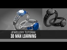 Easy Modeling Tutorial Design Ring In Max 3ds Max Tutorials, 3d Studio, 3d Tutorial, 3d Max, 3d Modeling, Fashion Bracelets, Ring Designs, Silver Rings, Diamond
