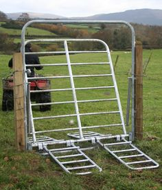 Farm Fence Stile Crossing Country Stiles Gates And