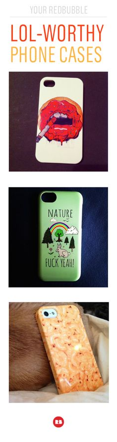 Let your phone case give you a LOL. These funny cases for iPhone and Android are the perfect way to inject a little more humor in your day. Find the perfect joke for you. #funnyphonecase