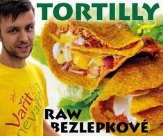 Mexické tortilly - Vařit či nevařit? Corn Recipes, Raw Vegan, Tacos, Mexican, Ethnic Recipes, Food, Tortillas, Youtube, Gourmet