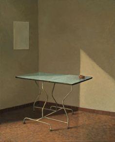 La table bleue   Anne Françoise Couloumy-2006-2007