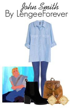 """John Smith"" by niley12345 ❤ liked on Polyvore featuring Topshop, MANGO, ASOS, Susan Shaw, love, disney, pocahontas, film and cartoon"