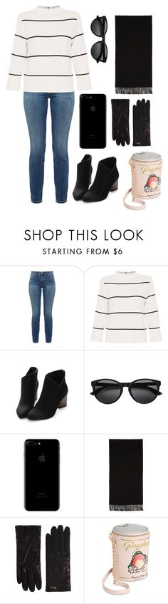 """""""Untitled #386"""" by catarina-de-sousa-lopes on Polyvore featuring Current/Elliott, L.K.Bennett, Acne Studios, Gucci and Betsey Johnson"""