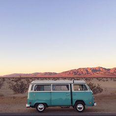 Home is where you park it. Volkswagen #RoadTrip #Bus #Adventure #Explore…