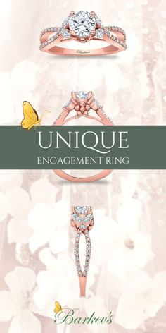 Choose from a wide variety of options. Check out the entire Rose Gold Engagement Ring collection at www.barkevs.com. Engagement Ring Styles, Rose Gold Engagement Ring, Diamond Wedding Rings, Wedding Engagement, Fantasy Wedding, Wedding Bells, Gold Wedding, Dream Wedding, Wedding Stuff