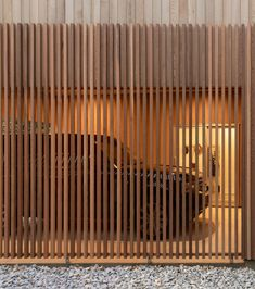 Tlp Shibui House Red Archiitecture 03 - The Local Project Timber Screens, Timber Cladding, Timber Fencing, Red Architecture, Architecture Diagrams, Architecture Portfolio, Clerestory Windows, House Doors, Japanese Culture