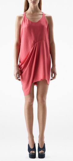 Acne Dress - Magenta Raspberry