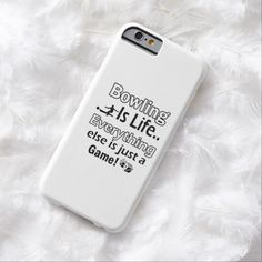 It's a cool iPhone 6 Case! This Bowling gift items iPhone 6 case is ready to be personalized or purchased as is. It's a perfect gift for you or your friends.