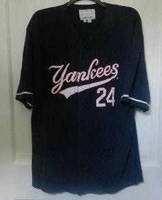 New York Yankees Jersey Size XL Vintage Authentic Mirage Num 24 Tino  Martinez  Mirage  NewYorkYankees 45c3d930b