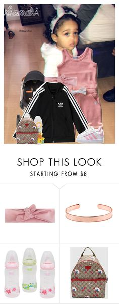"""""""3.24.18/ Going shopping for my Easter Bunny pictures outfit! ~Sonali"""" by kiddiefashion ❤ liked on Polyvore featuring Rachel Zoe, adidas Originals and Gucci"""