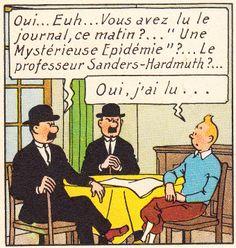 Chez Tintin - Les 7 boules de cristal - Hergé
