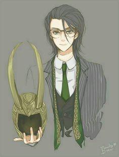 Anime Loki...I kind of really like this
