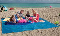 Tapete que filtra la arena hacia abajo cuando estás en la playa | La Guarida Geek