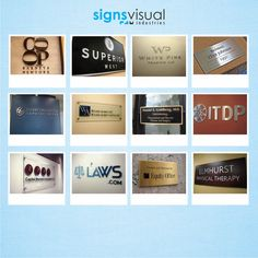Custom Wall Sign, Wall Signs, and Wall Signage - www.WallSign.com