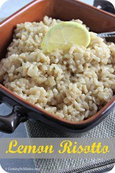 Lemon Risotto | Cooking In Stilettos  http://cookinginstilettos.com/lemon-risotto/