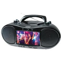 Televisions: Naxa Ndl-257 7 Bluetooth Dvd Boombox And Tv -> BUY IT NOW ONLY: $112.88 on eBay!